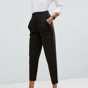 ASOS Highwaist Cigarette Pants